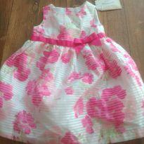 Vestido floral - 12 a 18 meses - Gymboree
