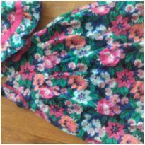 Vestido floral com chapéu - 3 anos - Gymboree