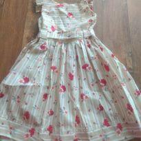 Vestido floral de verão - 4 anos - Alô bebê