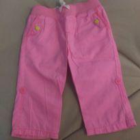 Calça rosa menina - 9 a 12 meses - Carter`s
