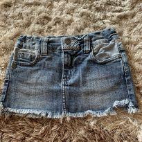 Saia jeans linda menina 4 anos! - 4 anos - John John