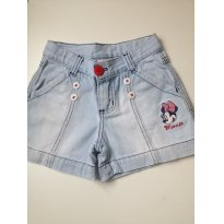 Shorts Minnie C - 6 anos - C&A
