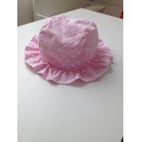 Chapéu Rosa de Bolinhas B - 9 meses - Não informada