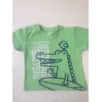 Camiseta Jacaré B - 6 meses - Alô bebê