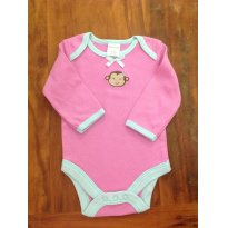 Body Macaquinha B - 0 a 3 meses - Babyworks