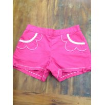 Shorts Gymboree Rosa A - 3 anos - Gymboree