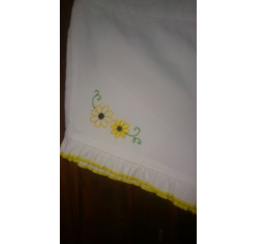 Shorts Flores Amarelas B - 1 ano - Baby headquarters
