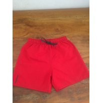 Shorts Vermelho C - 8 anos - Tribord