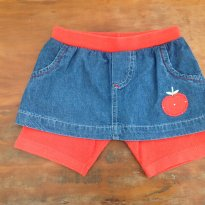 Shorts Saia Maça A - 3 anos - Have Fun