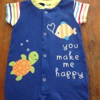 Romper Baby Club B - 3 a 6 meses - Baby Club