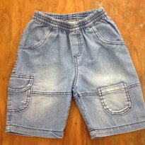 Bermuda Jeans T1 B - 1 ano - Have Fun