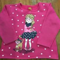 Blusa Menina A - 4 anos - Kyly