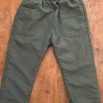 Calça Green Verde Militar A - 3 anos - Green