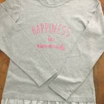 Blusa Happiness C - 14 anos - Hering Kids