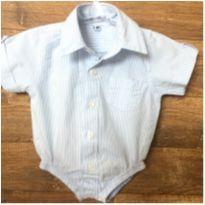Camisa Body D - Recém Nascido - Não informada