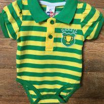Body Brasil D - 0 a 3 meses - Tip Top