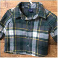 Camisa Xadrez D - 0 a 3 meses - Baby Gap