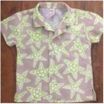 Camisa Camú Estrelas D - 9 a 12 meses - Camú Camú