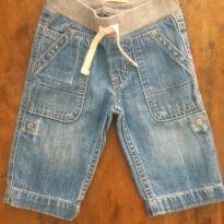 Jeans Claro Gap E - 6 a 9 meses - Baby Gap