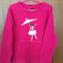 Manga Longa Bailarina F - 6 anos - Gymboree