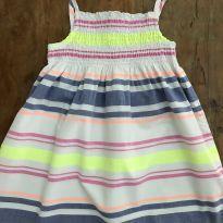 Vestido Alcinhas E - 5 anos - Carter`s