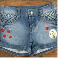 Shorts Jeans Ever After High F - 10 anos - C&A