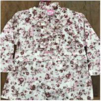 Camisa Lilica Flores A - 10 anos - Lilica Ripilica