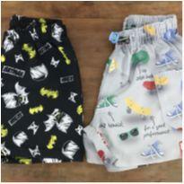 Kit Shorts Tactel D - 2 anos - Riachuelo e Alphabeto