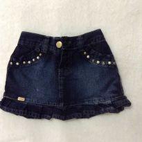 Saia Jeans - 3 anos - Não informada