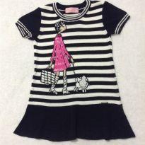 Vestido de linha - 4 anos - Pituchinhus