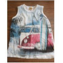 Camiseta regata - 6 anos - Rolú