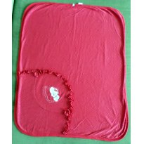 Manta vermelha - Sem faixa etaria - Soninho Infantil