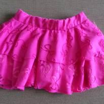 Mini saia pink - 2 anos - Sem marca