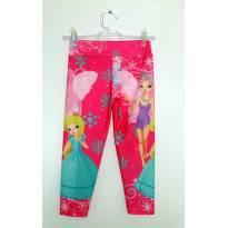 Calça legging pink estampada - 10 anos - Biawi Collection
