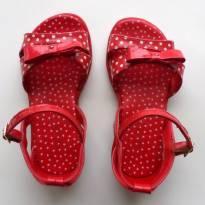 Sandália Vermelha - 23 - Pampili