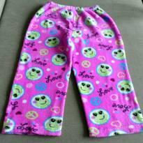 Calça pijama pink - 6 anos - Sem marca