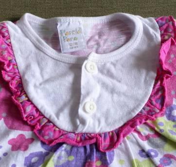 Vestido Estampado - 12 a 18 meses - Planeta pano