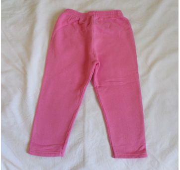 Calça de Moletom Rosa - 8 anos - Popin