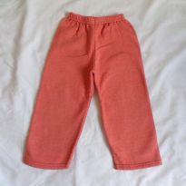 Calça de moletom Laranja - 4 anos - Não informada
