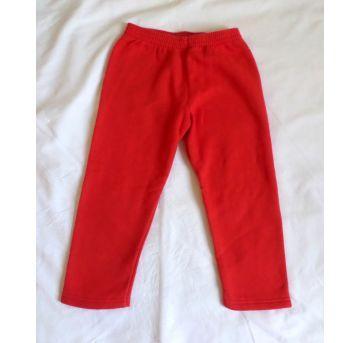Calça de moletom vermelha - 8 anos - Popin