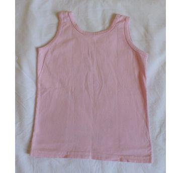 Regata rosa - 3 anos - Sem marca