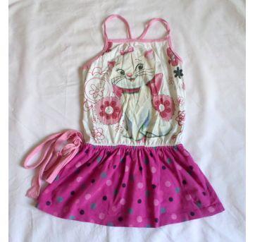 Vestido gata Marie - 4 anos - Disney