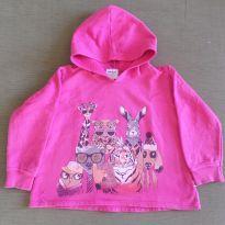 Blusa de moletom Pink Animais