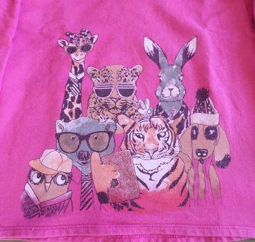 Blusa de moletom Pink Animais - 4 anos - Rovitex