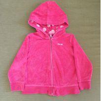 Blusa plush com Capuz Pink - 4 anos - GAP