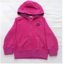 Blusa de Plush com capuz pink - 3 anos - Toys & Kids