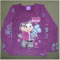 Blusa manga longa Vinho - 4 anos - Brandili