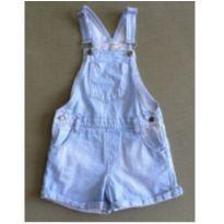 Jardineira jeans azul claro - 6 anos - Palomino
