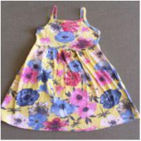 Vestido alcinha florido - 4 anos - Brandili
