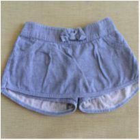 Short saia jeans - 3 anos - Have Fun